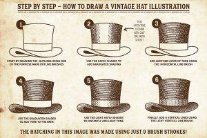 复古画笔线条艺术AI笔刷 Finest Vintage – Affinity Brushes插图3