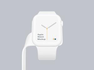 苹果第四代智能手表超级样机套装 Apple Watch 4 Mockups插图48