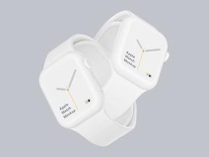 苹果第四代智能手表超级样机套装 Apple Watch 4 Mockups插图5