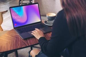 高雅干净利落笔记本电脑MacBook Pro样机 Elegant & Clean Macbook Pro Mockups插图7