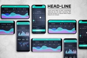 Android & iOS 客户端UI设计演示样机 Android & iOS Mockup插图7