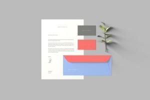 创意办公用品套件品牌VI设计预览样机 Branding Stationery Mockups插图5