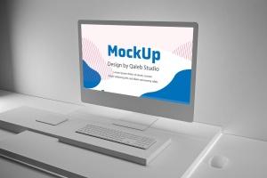 极简设计风格iMac一体机电脑样机v2 Clean iMac Pro V.2插图6