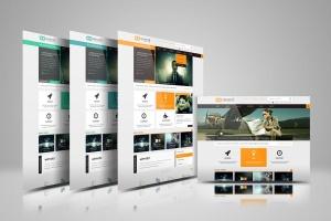 网站设计效果图多视觉预览样机模板 Website Display Mockup插图3