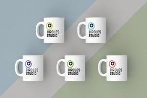 高品质时尚的马克杯样机套装 Mugs Mockups Pack插图4