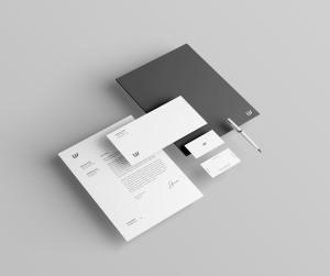 企业品牌VI视觉设计展示办公用品样机套件PSD模板 Stationery Branding & Identity Mockup – PSD插图7
