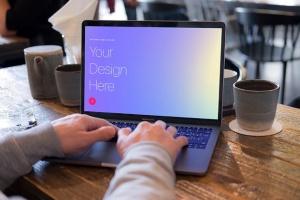高雅干净利落笔记本电脑MacBook Pro样机 Elegant & Clean Macbook Pro Mockups插图12