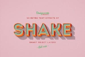 80年代复古风格文本特效PS字体样式v1 Retro Text Effects V2插图10