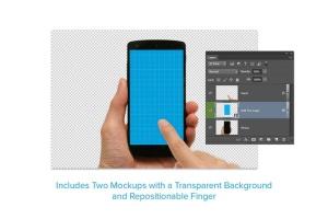 手机UI&APP设计演示样机套装 8 Phone Mockups插图3
