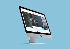 2019款iMac一体机电脑多角度样机模板 iMac 2019 Angle Mockup插图3