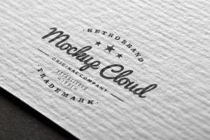徽标Logo印刷效果展示样机合集 Logo Mockup Set插图4