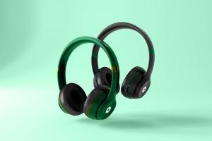 高品质头戴运动音乐耳机样机模板 Headphones Mockup插图2