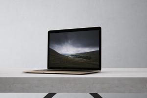高品质的笔记本电脑设备展示样机 Laptop Mock-Up插图5