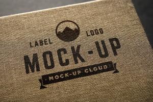 徽标Logo印刷效果展示样机合集 Logo Mockup Set插图8