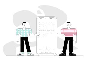 一流设计素材网下午茶:个性的生活场景插画素材下载[Ai]插图6