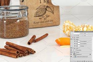 饮食餐厅工作场景iMac样机模板 iMac mockup – (cooking)插图3