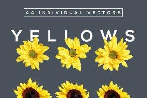 美丽花卉布局排版AI图层样式 FlowerType for Illustrator插图4