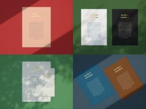 品牌VI设计系统办公用品印刷品套件样机 Stationary Mockup — Set 1插图3