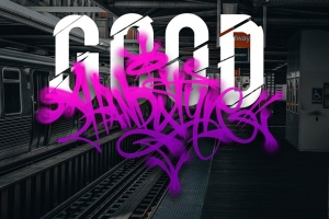 欧美街头涂鸦艺术PS笔刷下载插图2