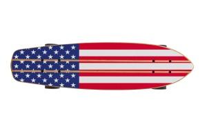 滑板底部设计预览图样机03 Skate_Board-03_Mockup插图2