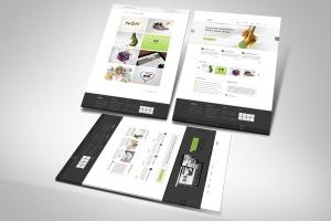 网站UI设计3D展示图样机模板 3D Web Presentation Mockup (V1)插图3