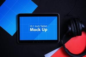 平板电脑智能设备演示样机模板V.1 Tablet MockUp V.1插图4