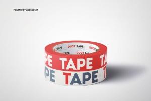 管道胶带图案设计效果图样机v2 Duct Tape Mock-up 2插图8