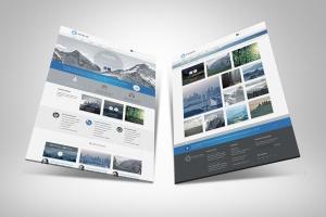 网站UI设计3D展示图样机模板 3D Web Presentation Mockup (V1)插图5