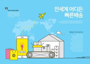 网上购物物流配送服务主题插画设计素材插图1