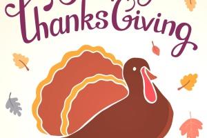 感恩节庆祝火鸡美食矢量设计素材 Happy Thanksgiving turkey插图1