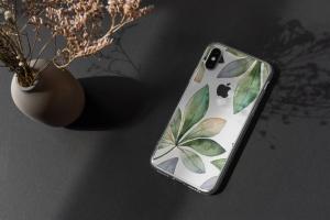 iPhone手机透明保护壳外观设计样机模板 iPhone Clear Case Mock-Up's插图6