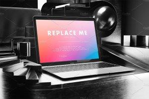 创意的Macbook展示模型Mockups打包下载[psd]插图10