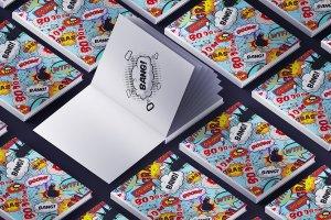 超大容量品牌样机集合 Knock-knock Mockups(3.36GB)插图19