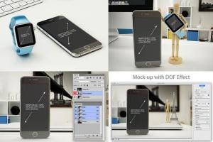 11个逼真的iphone设备样机模板 Phone Mockup – 11 Poses插图4