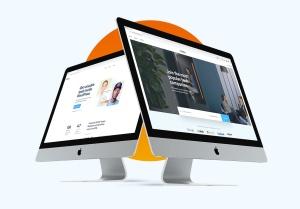 2019款iMac一体机电脑多角度样机模板 iMac 2019 Angle Mockup插图2