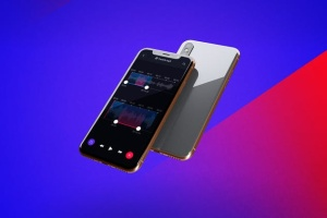iPhone Xs手机应用UI设计展示样机模板 iPhone XS V.1插图2