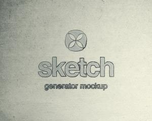 素描绘画生成器PS样机 Sketch Generator Photoshop Mockup插图1
