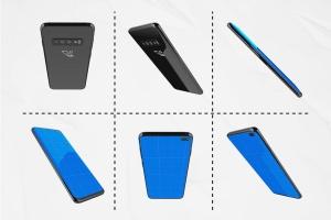 三星智能手机S10移动应用UI设计预览样机 S10 Kit MockUp插图6