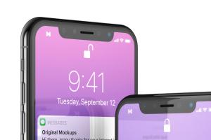 iPhone X智能手机APP设计图演示样机模板02 Free iPhone X Mockup 02插图4