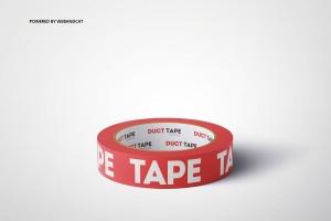 管道胶带图案设计效果图样机v2 Duct Tape Mock-up 2插图6