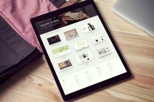 简约风办公桌场景iPad Pro平板电脑样机v2 IPad Pro Mockups V2插图5