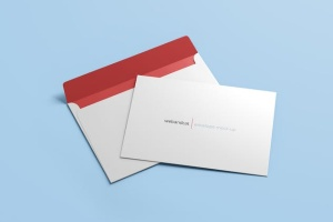 公司/企业信封设计样机模板 Envelope C5 / C6 Mock-up插图7