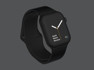 苹果第四代智能手表超级样机套装 Apple Watch 4 Mockups插图34