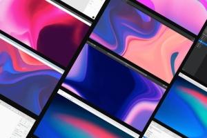 超实用跨平台设备设计演示框架样机合集 Frrames Mockups插图6