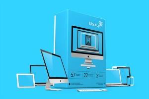 57种不同的苹果手机电脑设备VI样机展示模型mockups插图1