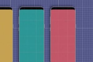 三星智能手机S9应用程序演示设备样机 S9 Mockup插图9