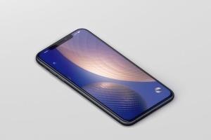 高品质的iPhone XS Max智能手机样机模板 Phone XS Max Mockup插图6