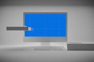极简设计风格iMac一体机电脑样机v2 Clean iMac Pro V.2插图9