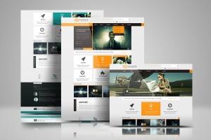 网站设计效果图多视觉预览样机模板 Website Display Mockup插图5