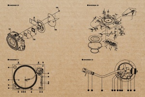 复古视听电器可视化结构矢量图形素材 Retro Diagrams – Audio Visual Edition插图7